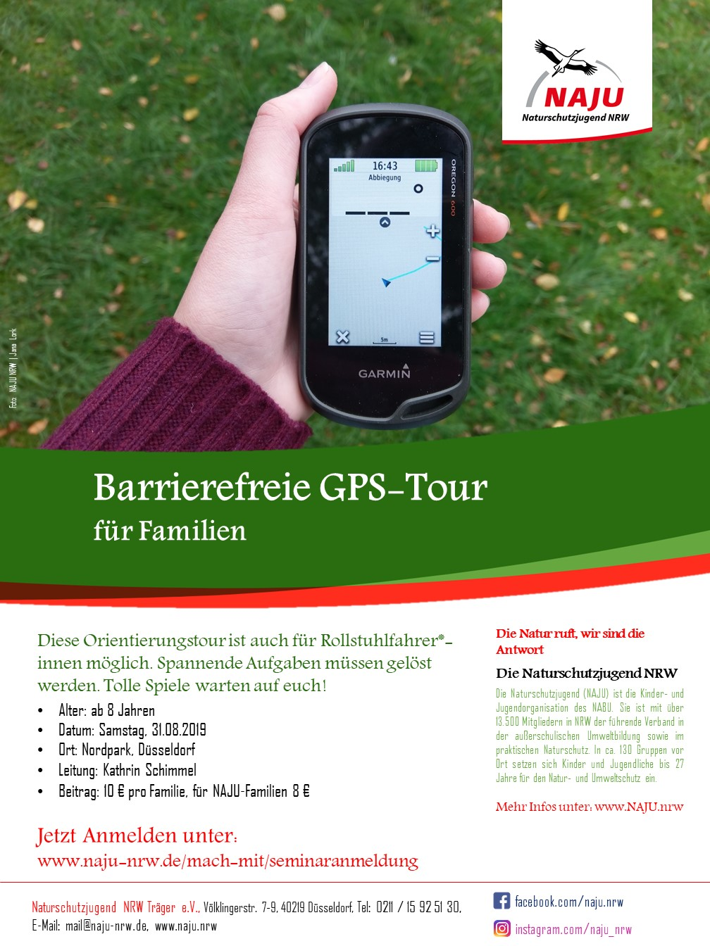 Barrierefreie GPS Tour